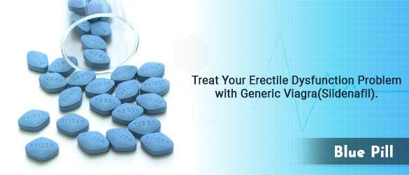 Blue Pill (Sildenafil-Viagra)