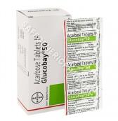 Glucobay 50mg Tablets(Acarbose)