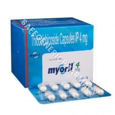 Myoril Capsules (Thiocolchicoside)