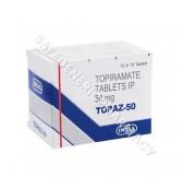 Topaz 50mg Tablets