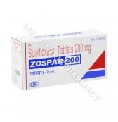 Zospar 200mg Tablet (Sparfloxacin)