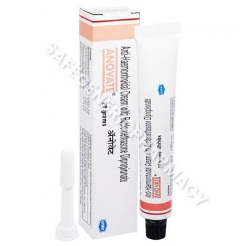 Anovate Cream 20gm (Beclometasone 0.025% / Lidocaine 2.5% / Phenylephrine 0.10%)