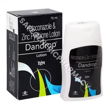 Dandrop Lotion 75ml (Ketoconazole 2% / Zinc Pyrithione 1%)
