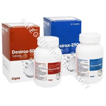 Desirox Tablets (Deferasirox)