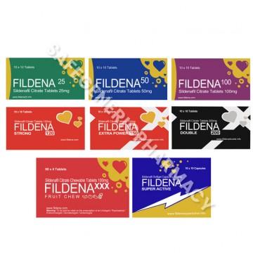Fildena Tablets (Sildenafil Citrate)