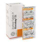 Glucobay 25mg Tablets