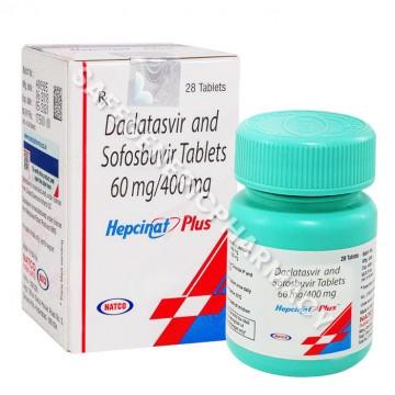 Hepcinat Plus (Sofosbuvir 400mg/Daclatasvir 60mg)