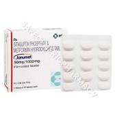 Janumet Tablets (Sitagliptin/Metformin)