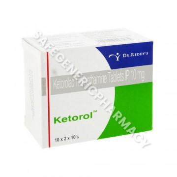 Ketorol Tablets & Injection (Ketorolac)
