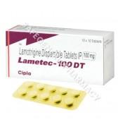 Lametec 100 DT Tablet (Lamotrigine)