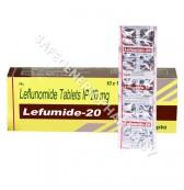 Lefumide 20mg Tablet (Leflunomide)