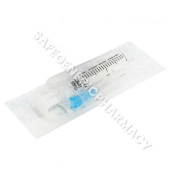 Plastic Syringe with needle
