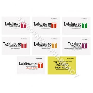 Tadalista (Tadalafil)