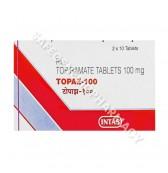 Topaz 100mg Tablets (Topiramate)