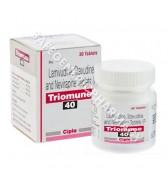 Triomune 40mg Tablets (Stavudine /Lamivudine /Nevirapine )