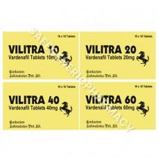 Vilitra Tablets (Vardenafil)
