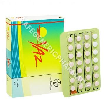 Yaz Tablets (Drospirenone/Ethinylestradiol)