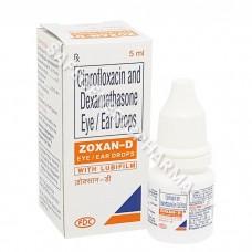 Zoxan D Eye/Ear Drop